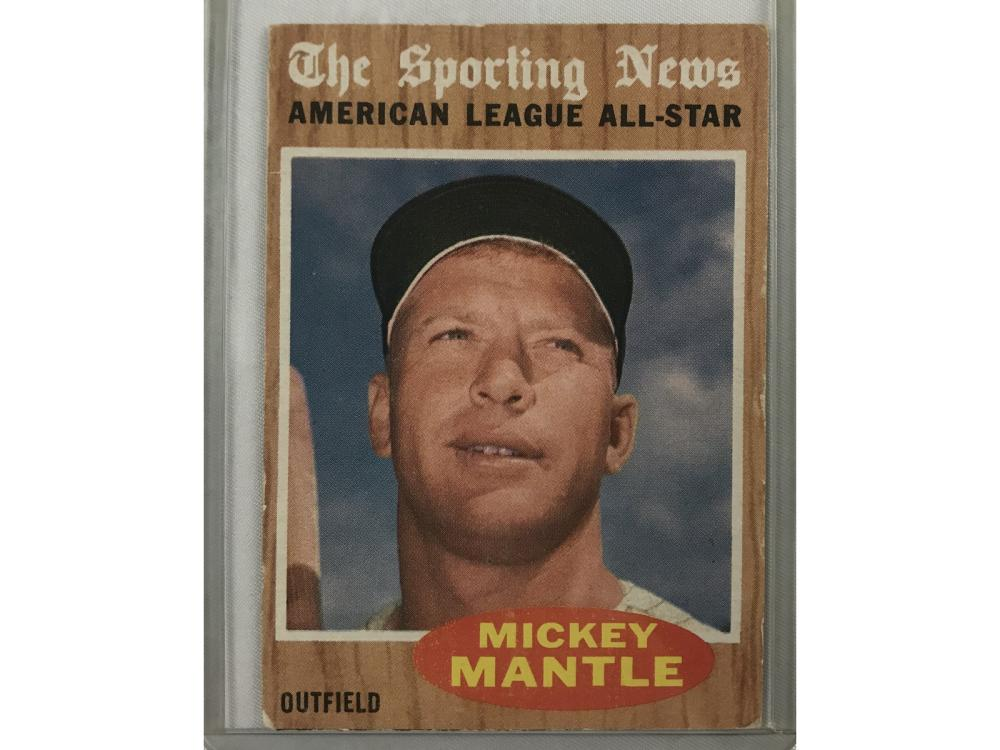 1962 Topps Mickey Mantle