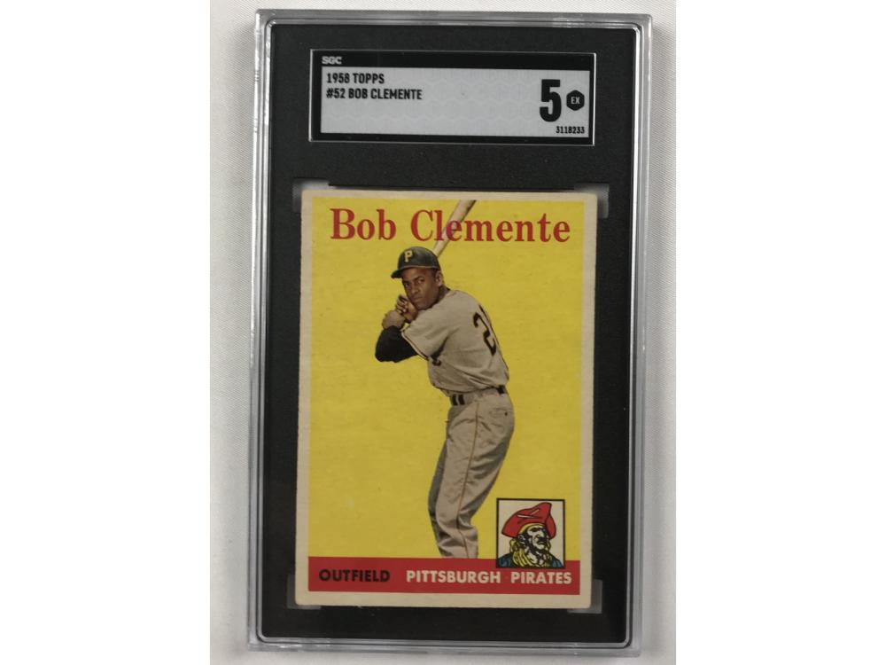 1958 Topps Roberto Clemente Sgc 5