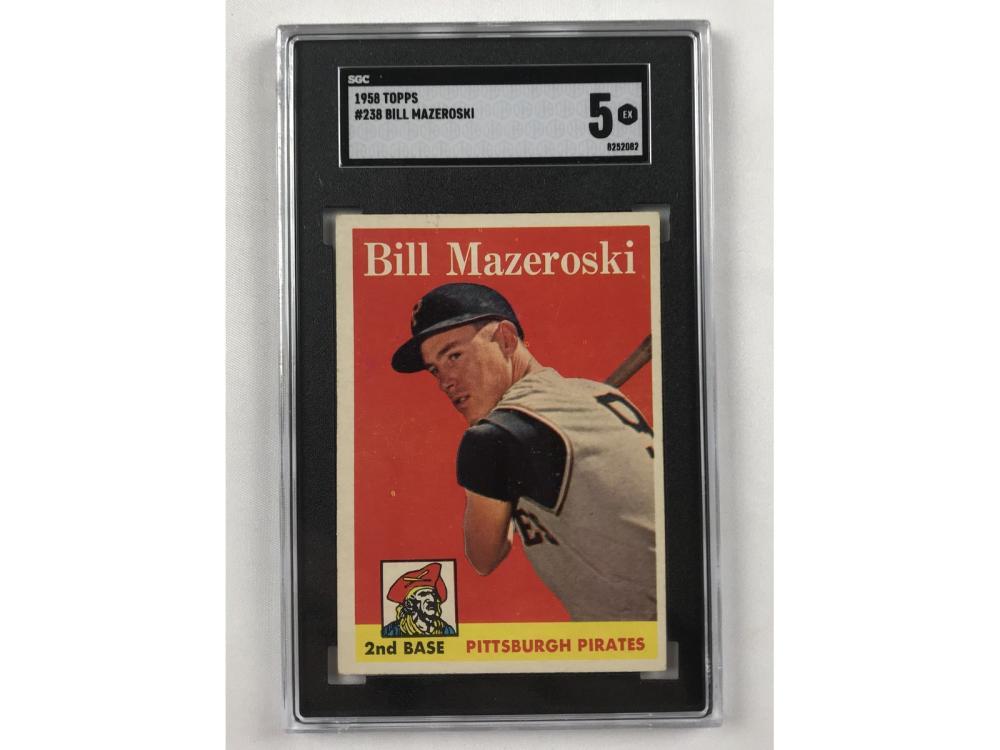 1958 Topps Bill Mazeroski Sgc 5