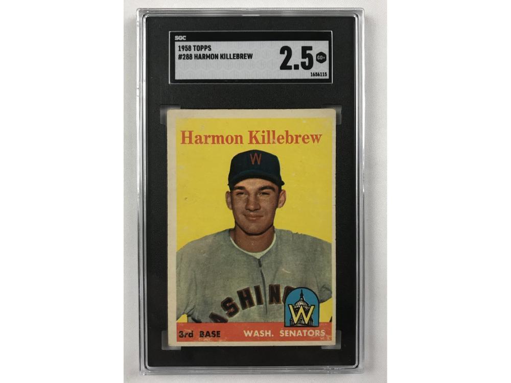 1958 Topps Harmon Killebrew Sgc 2.5