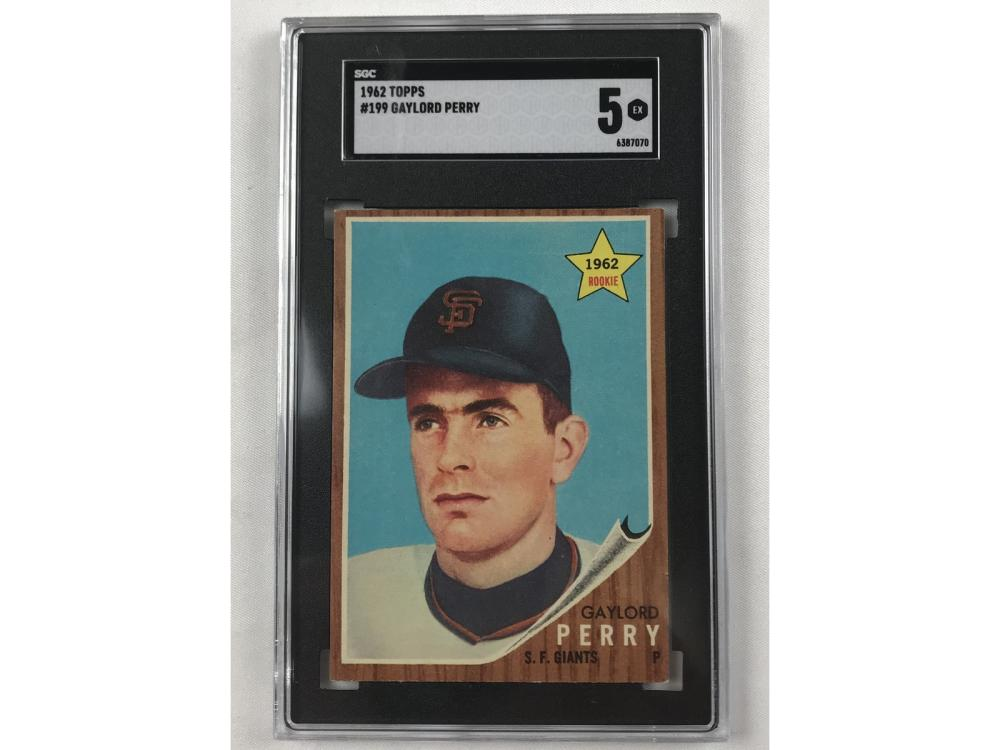 1962 Topps Gaylord Perry Sgc 5