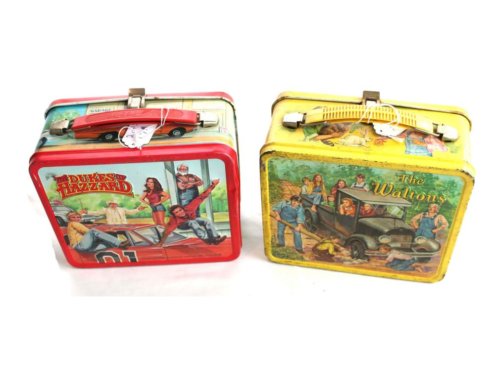 (2) Lunch Boxes-dukes Of Hazzard/waltons