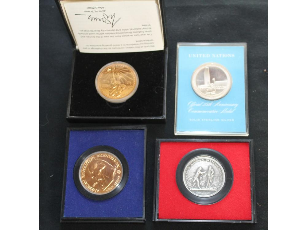 19 Commemorative Coins And Medals