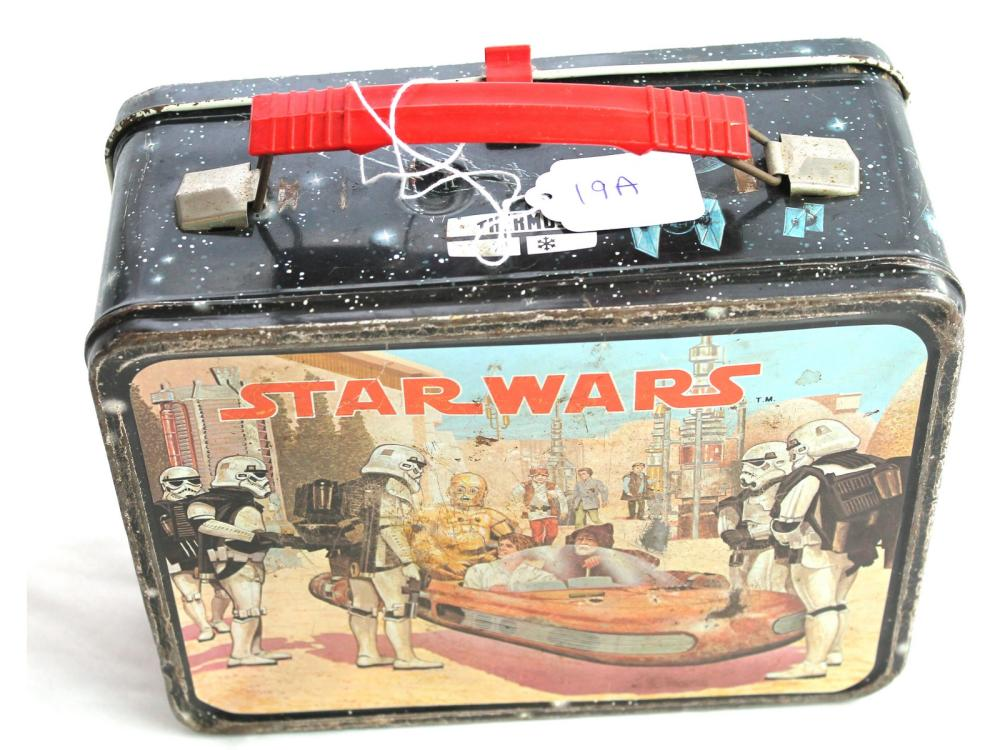 Vintage 1977 Star Wars Lunch Box/thermos