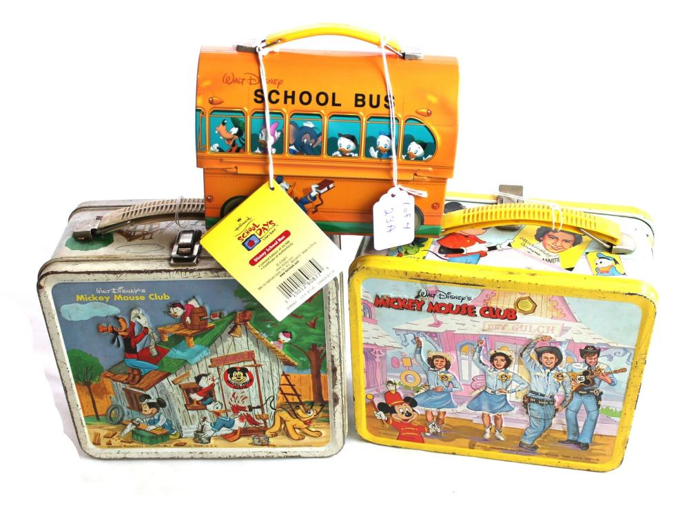 Mickey Mouse Lunchbox/thermos Collection