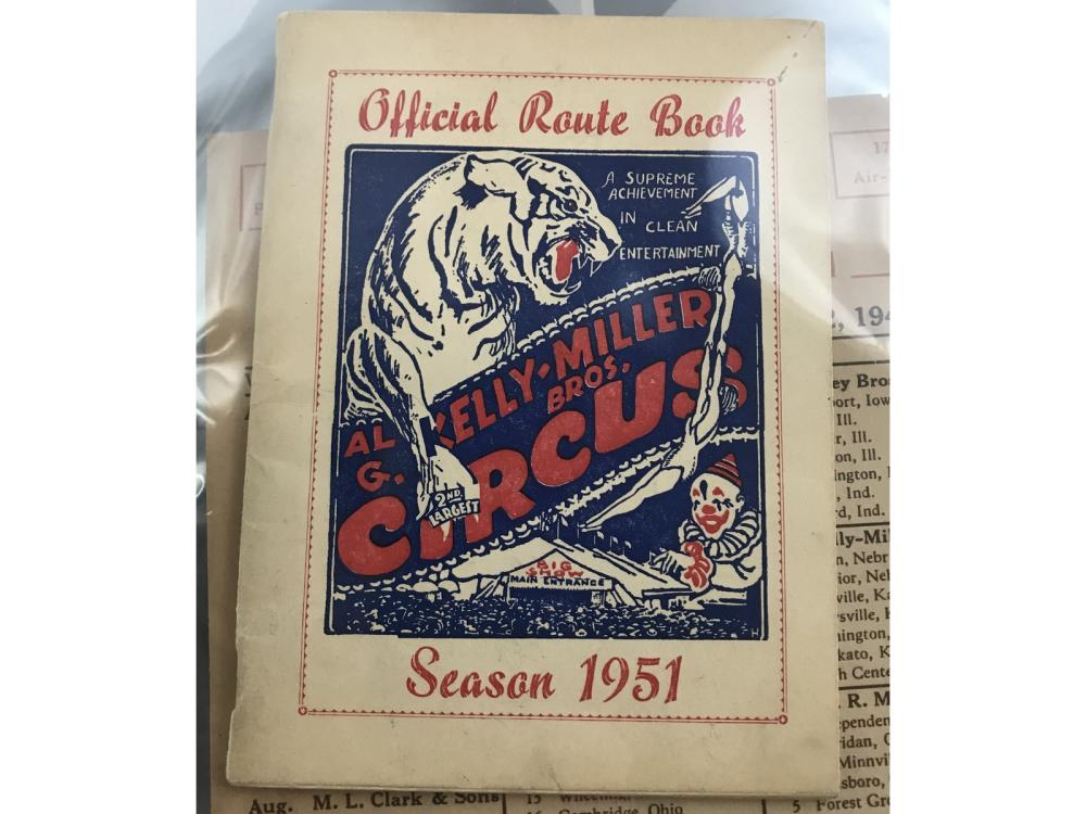 Over 50 Vintage Circus Items