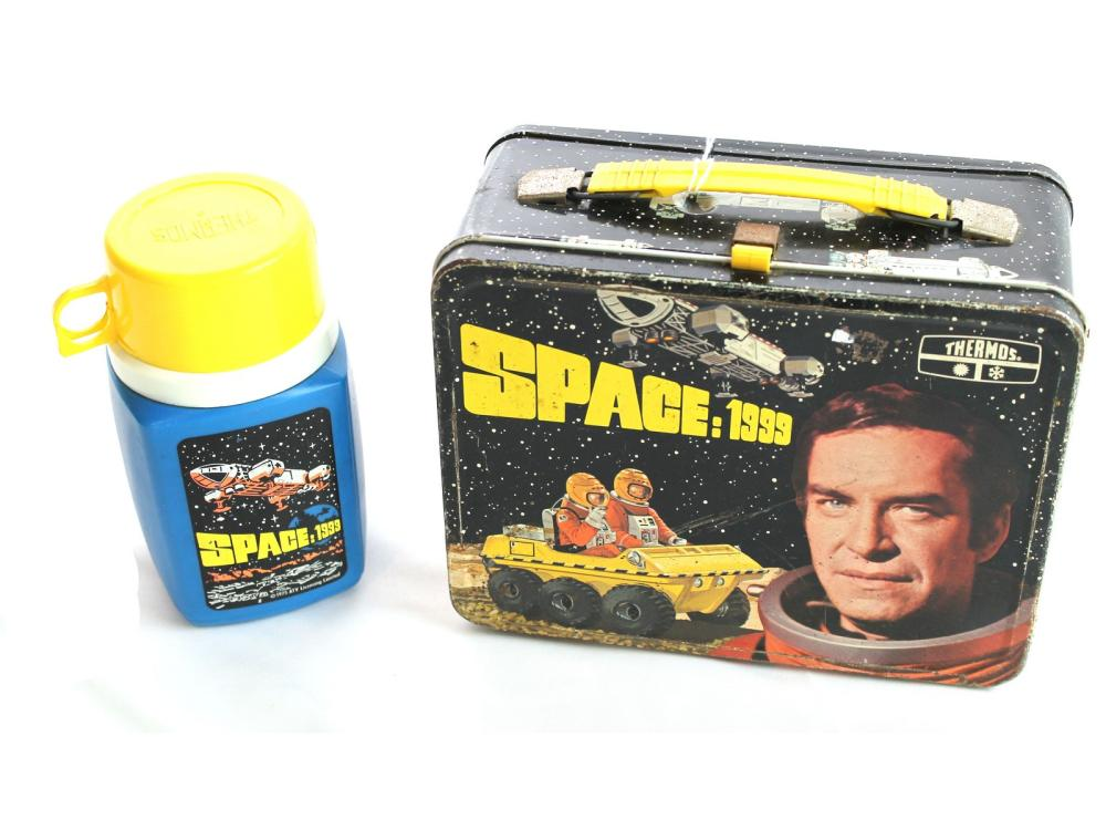 1976 Space:1999 Metal Lunch Box