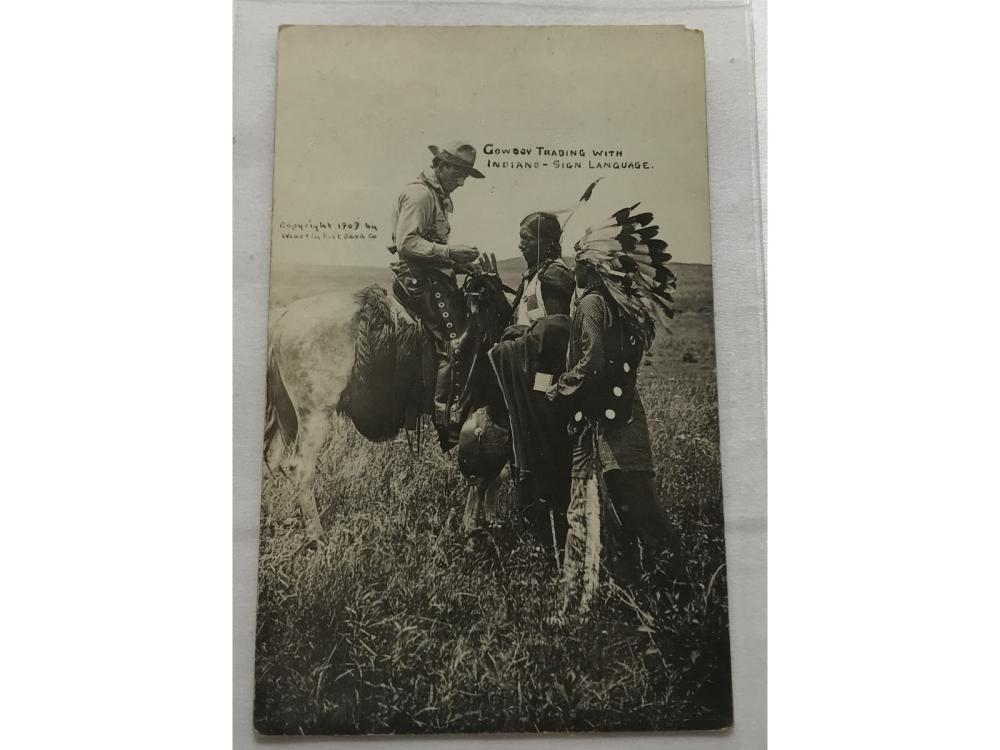 (5) Indian Chiefs Rppc- Lookout/canyon