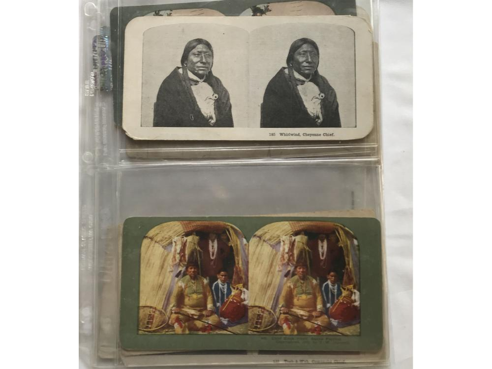 (13) Different Indian Steroview Cards