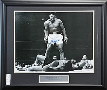 Muhammad Ali Autographed Photo 19x15