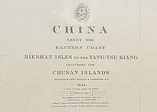 1843 Map of The Eastern Coast of China