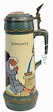 1910 Five Liter Mettlach Stein