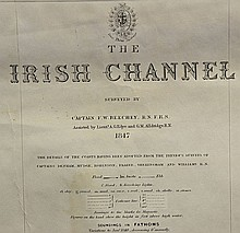 1847 Chart of The Irish Channel