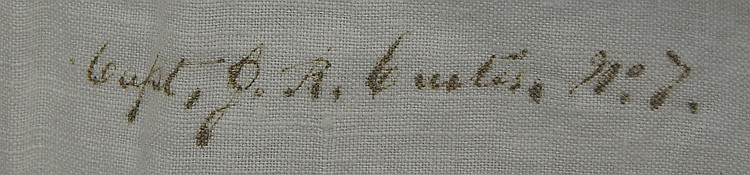 George Armstrong Custer signed shirt