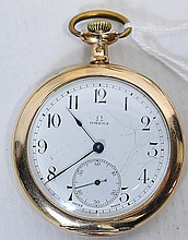 17 Jewel Omega Swiss Pocket watch