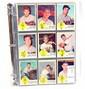 Complete set of 1963 Fleer Baseball cards including checklist EX-NM