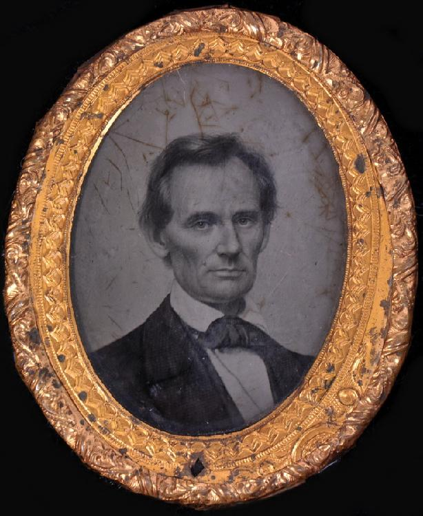 Abraham Lincoln Ambrotype