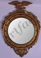 Girandole Convex Glass Federal 4' Mirror