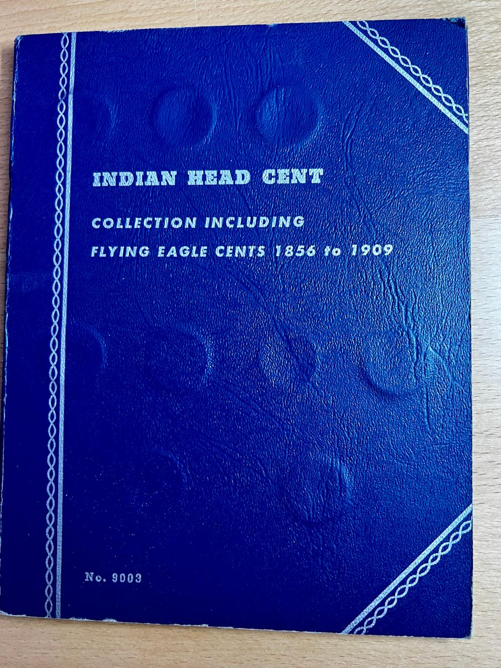 Partial Set Of Indian Head Cents Missing 7 Coins