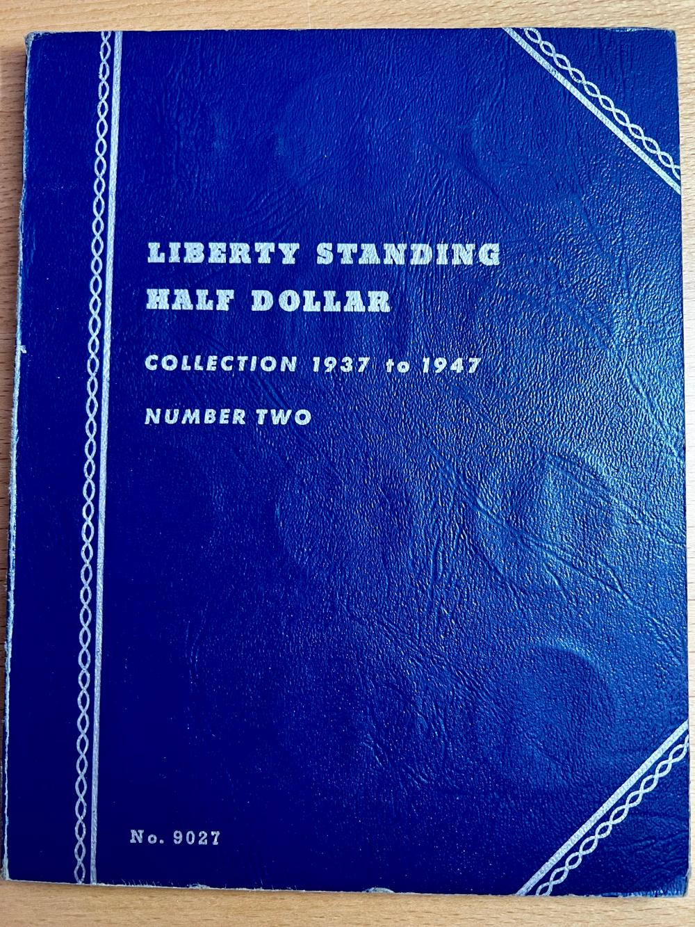 Complete Set Of Walking Liberty Halves 1937-1947