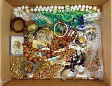 One box of Costume Jewelry