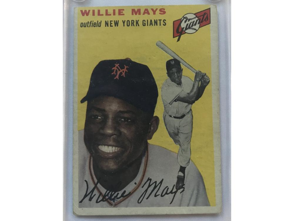 1954 Topps Willie Mays