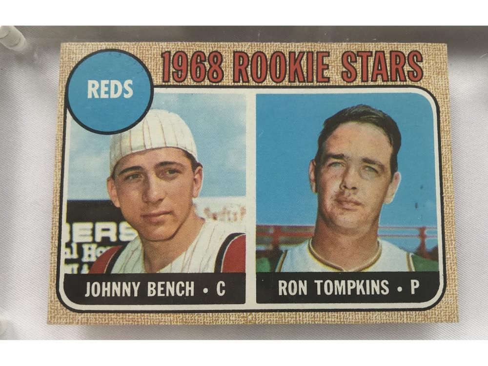 (exmt) 1968 Topps Johnny Bench Rookie