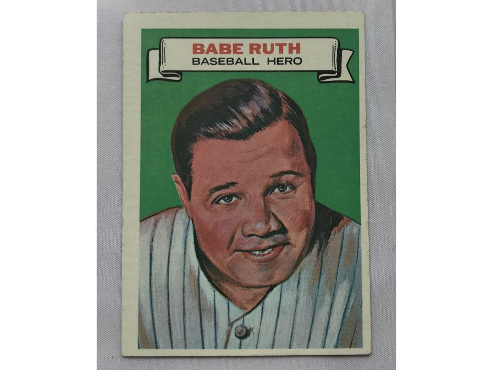 1967 Topps Who Am I Babe Ruth #12