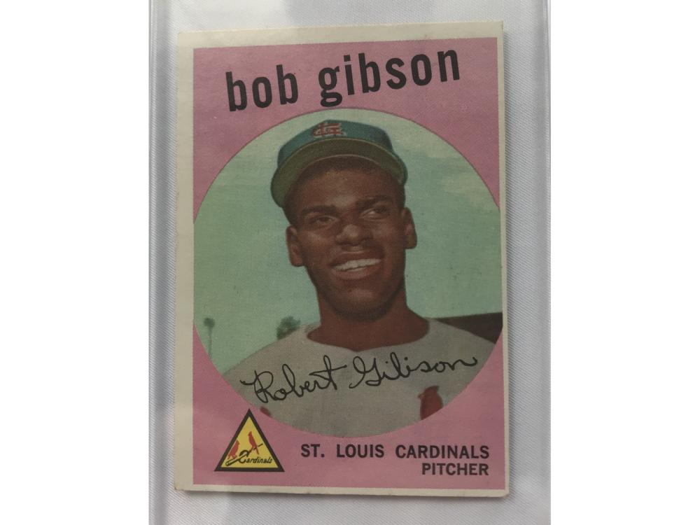 1959 Topps Bob Gibson (rookie)