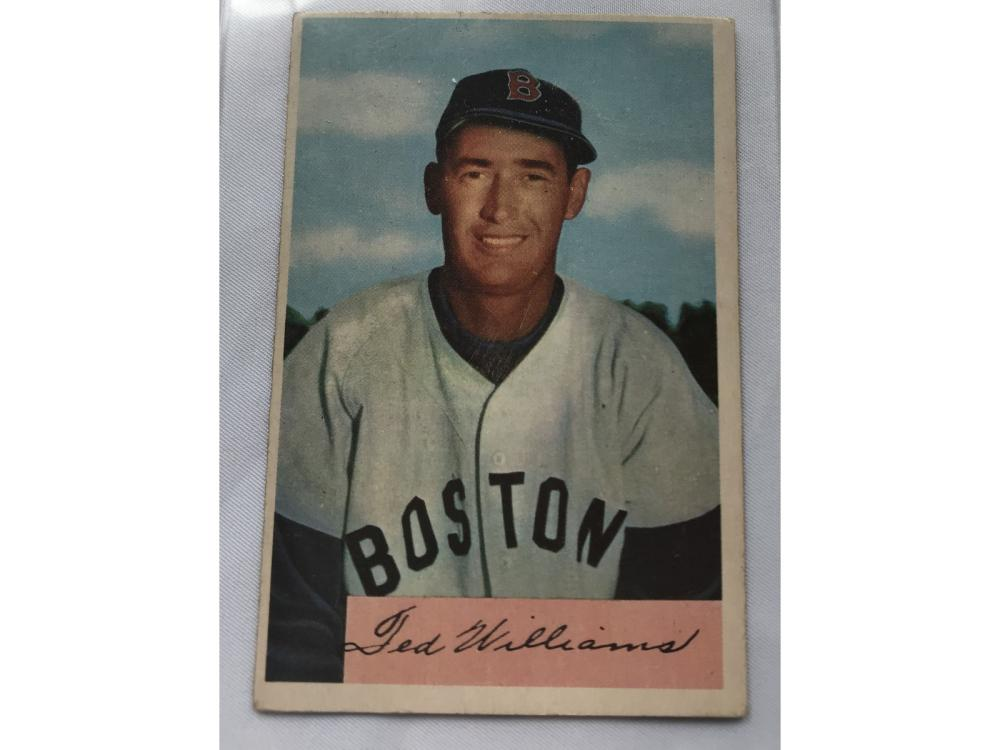 1954 Bowman Ted Williams #66