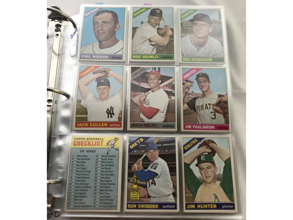 (488/522) 1966 Topps Low # Partial Set (hofs)