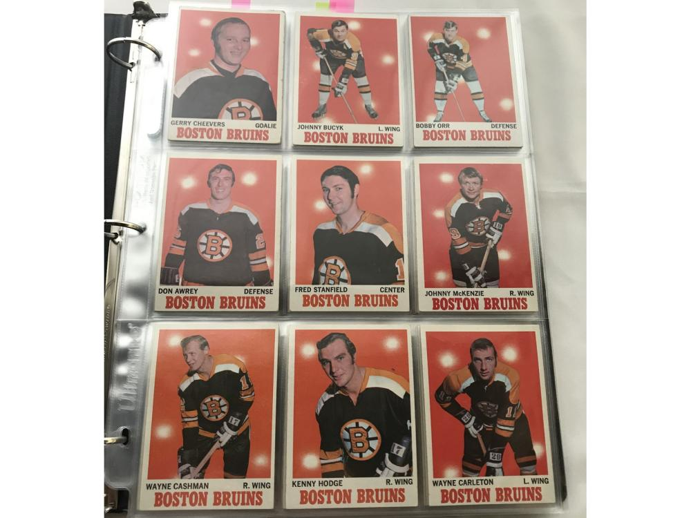 (132/132) 1970-71 Topps Hockey Complete Set