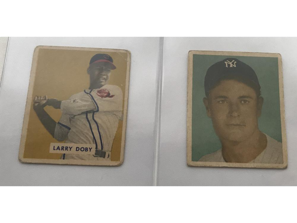 (6) 1949 Bowman Baseball Cards (dolby Rc)