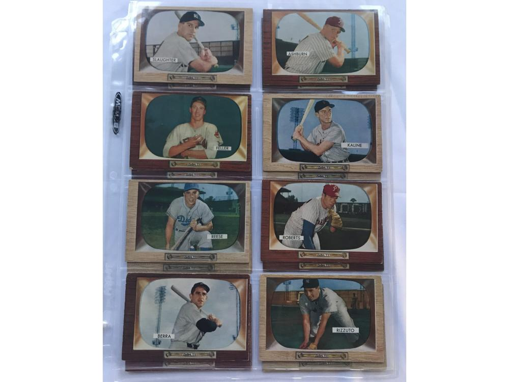 16 1955 Bowman Hall Of Famers