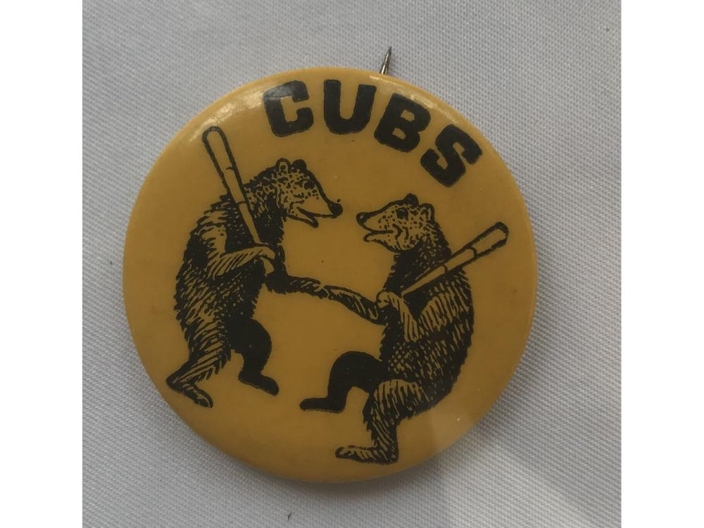 1930 Pin Vintage Double-bear Chicago Cubs