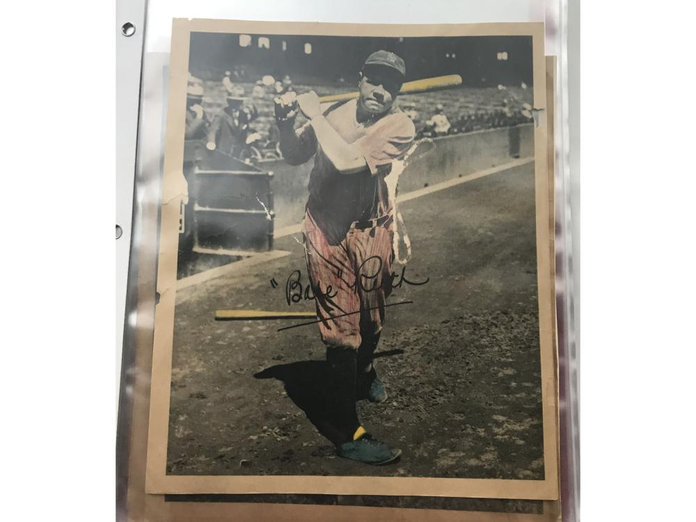 (9) 1934 Low Grade Butterfingers (babe Ruth)