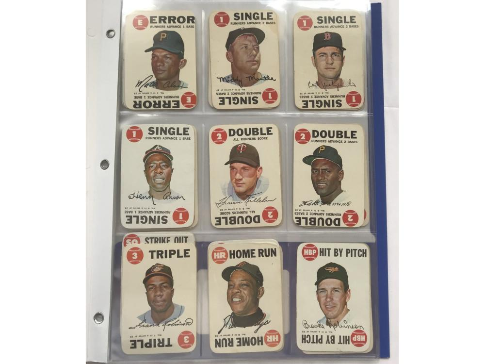 1968 Topps Game Complete Set (33/33)
