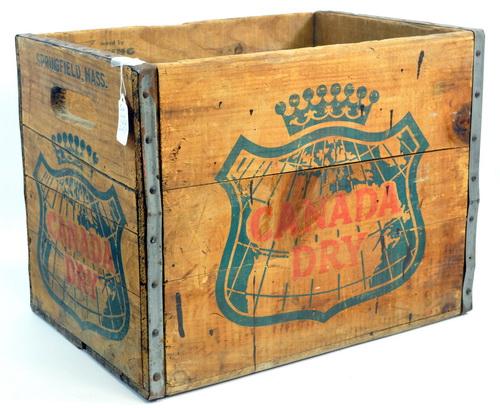 Five Vintage Wooden Boxes