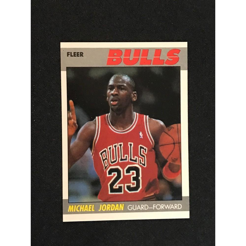 1987 Fleer Michael Jordan Nm-mint+