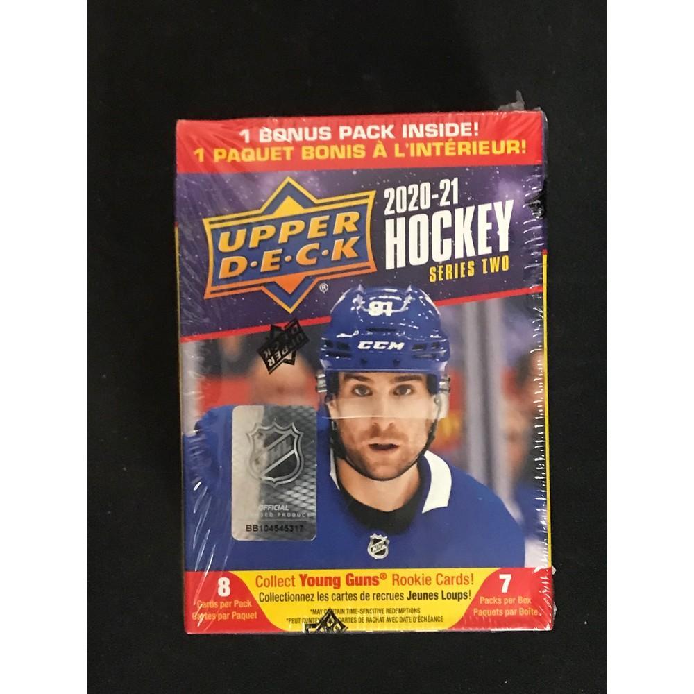 2021 Upper Deck Hockey Sealed Blaster Box