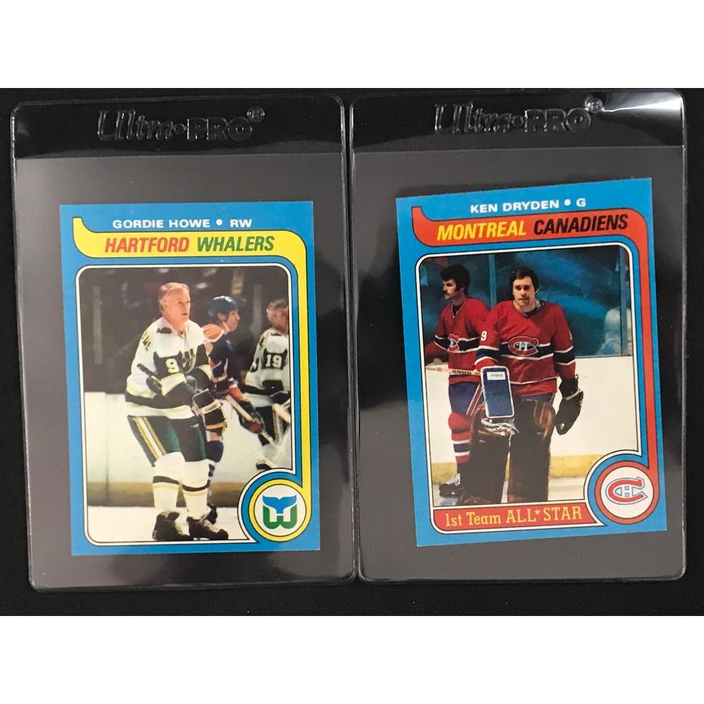 Two 1979 Topps Hockey Hof Cards