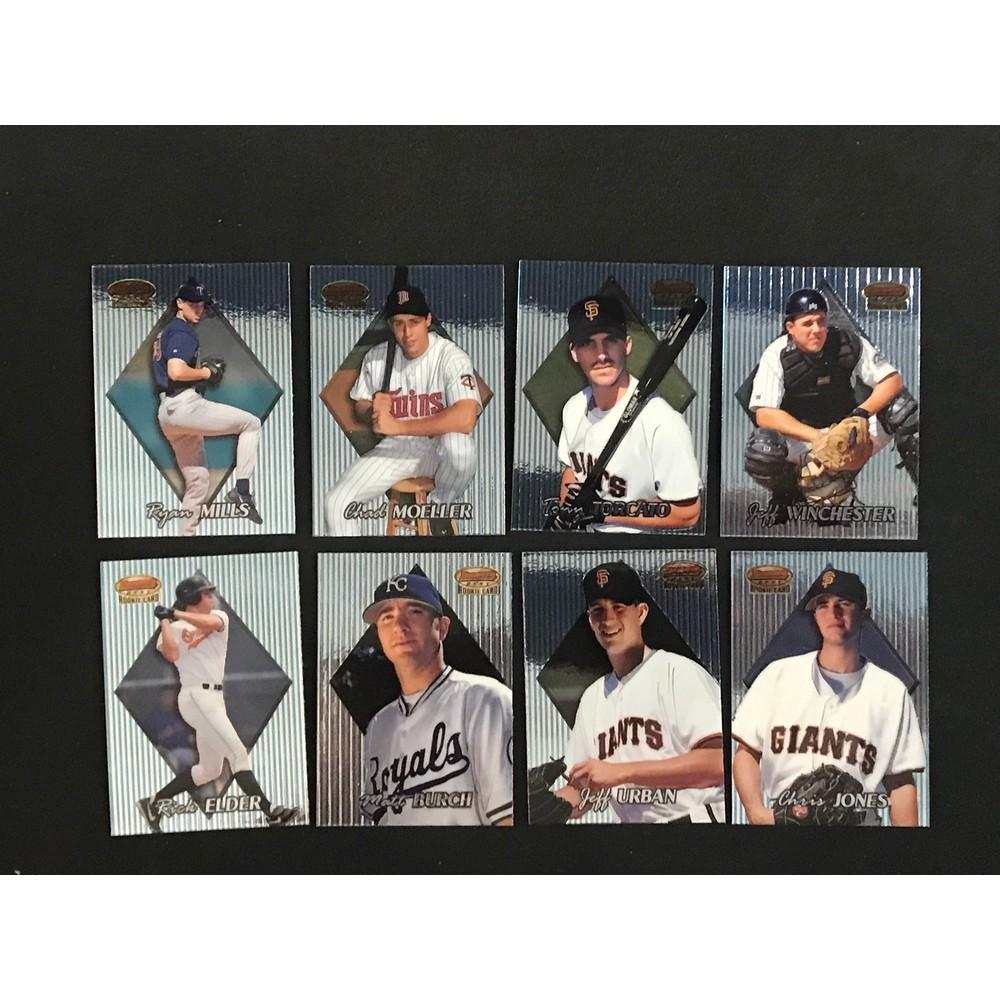 1999 Bowman's Best Baseball Complete Set