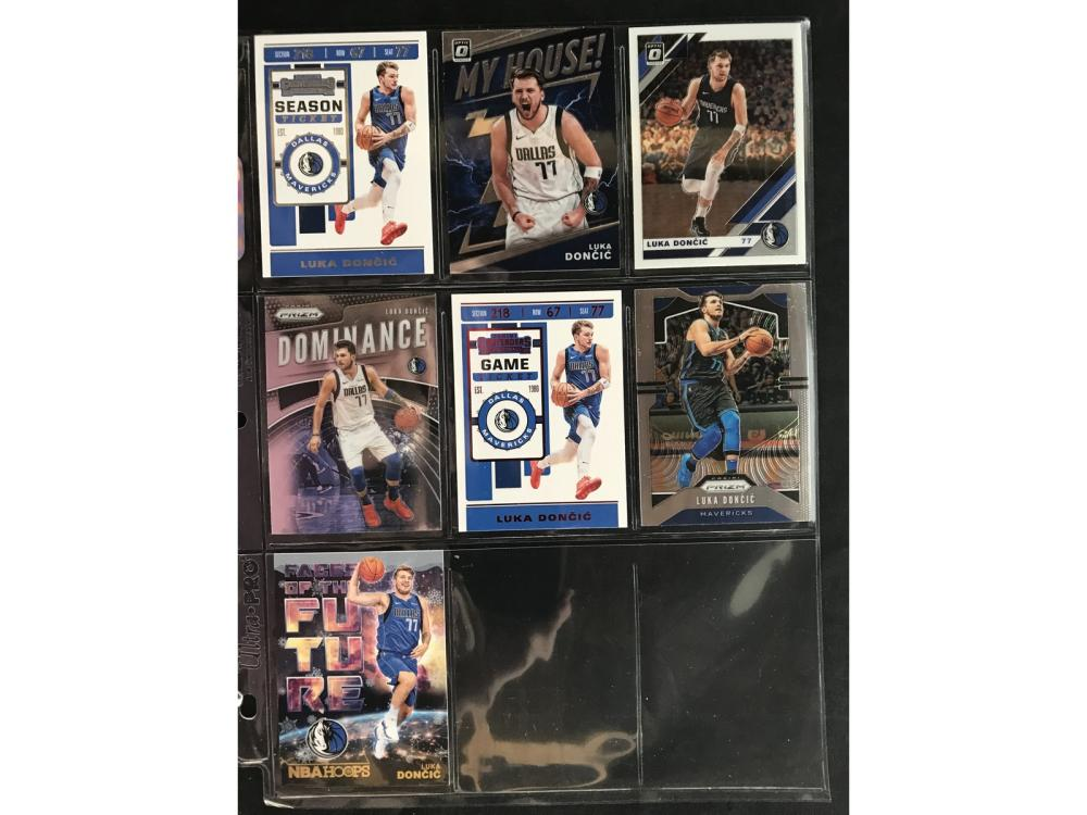 7 Luka Doncic Cards With Inserts