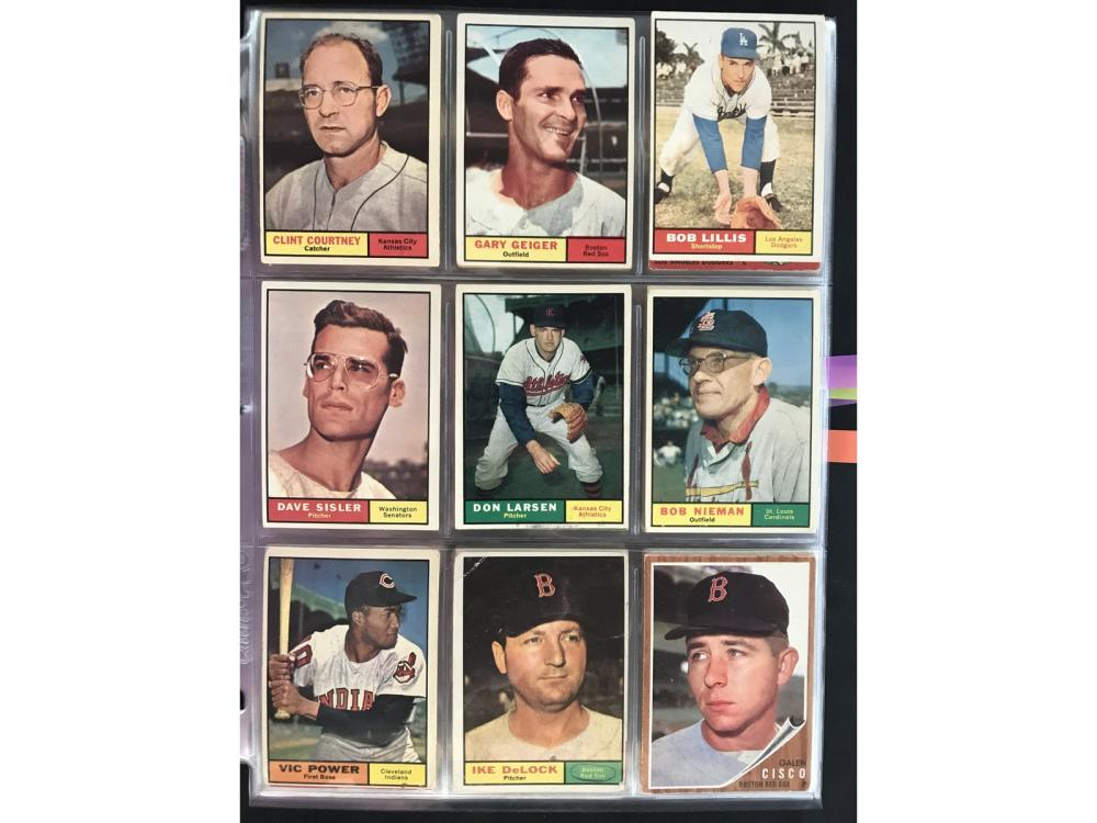 99 Estate Baseball Cards 1960-67