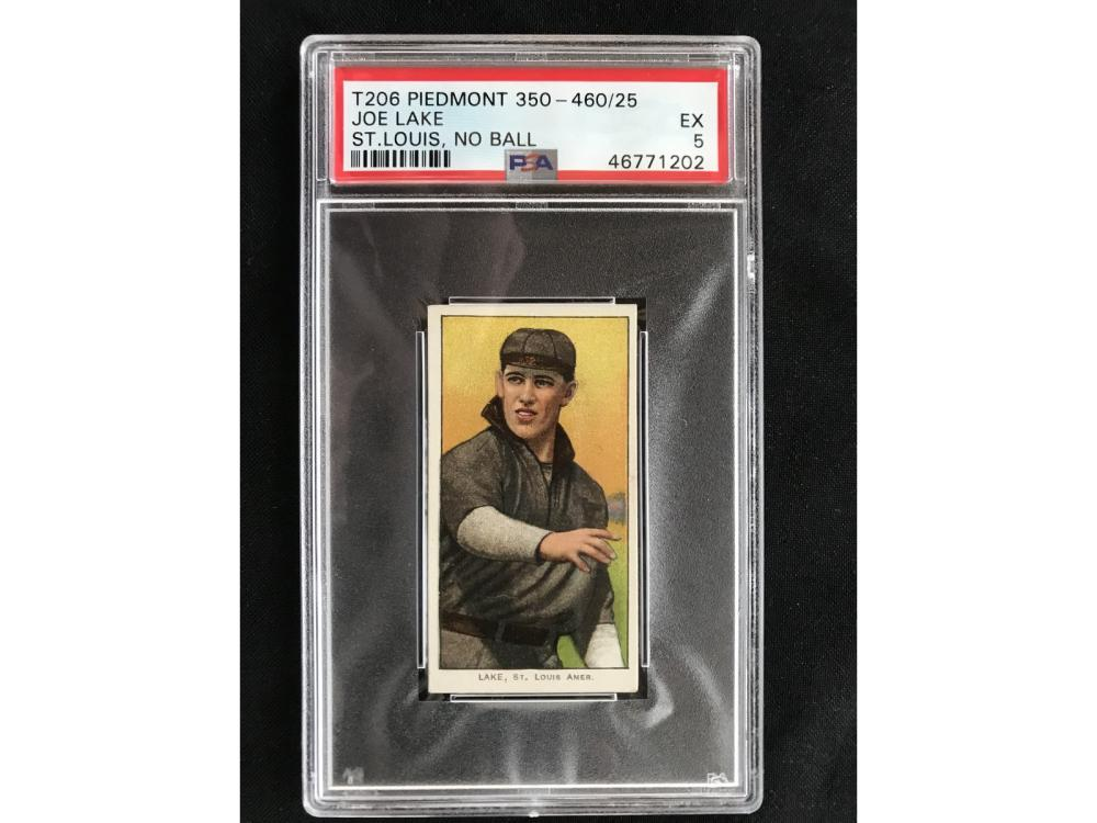 T206 Joe Lake St. Louis Psa 5