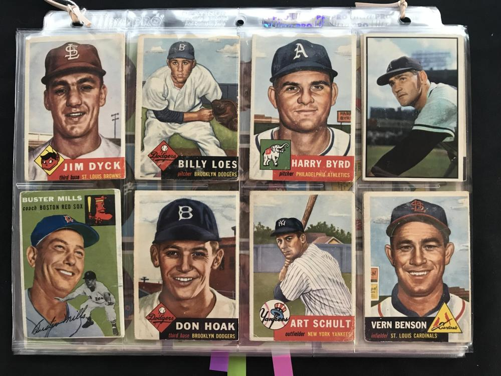 67 Estate Baseball Cards 1951-1959