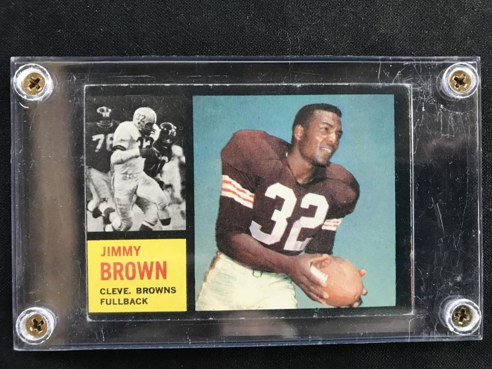 1962 Topps Jim Brown