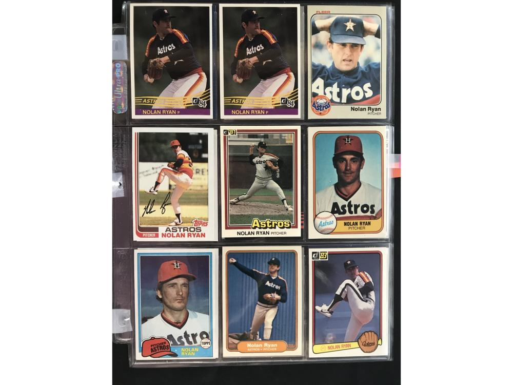 27 Vintage Nolan Ryan Baseball Cards