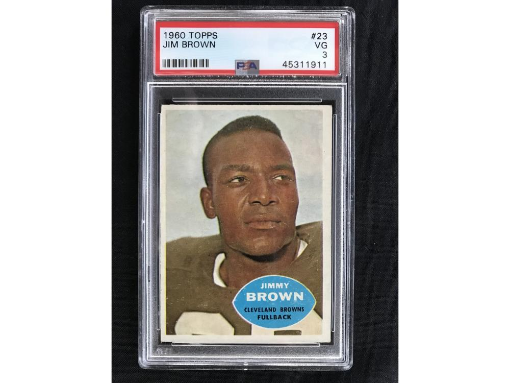 1960 Topps Jim Brown Psa 3
