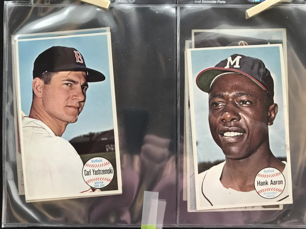 8 1964 Topps Giants Cards Hof